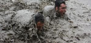 Mud Wrestling © Ian Mcdonald | Dreamstime 72635105