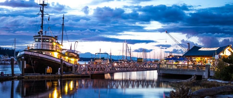 Olympia Harbor, Washington © Kennethkiserphotography | Dreamstime 78944947