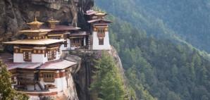 Paro Valley, Bhutan © Worasakc | Dreamstime 55193276