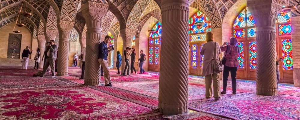 Pink Mosque, Shiraz, Iran © Jasmina | Dreamstime 58350045