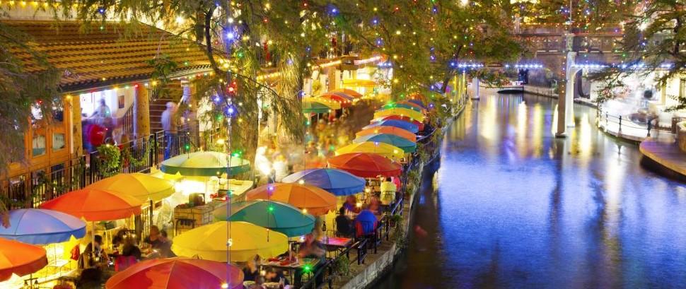 San Antonio Riverwalk, Texas © Valentin Armianu   Dreamstime 35657167