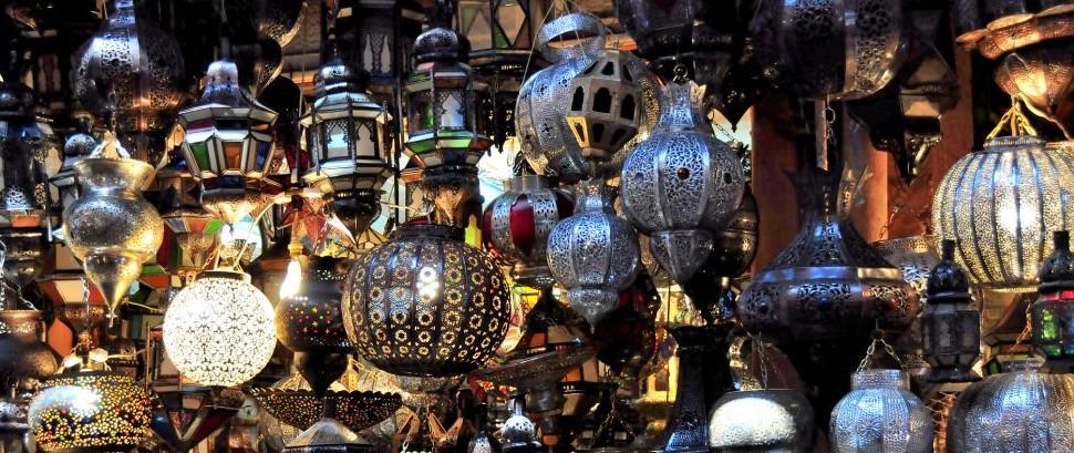 Souk in Marrakech, Morocco © Franco Ricci | Dreamstime 23076145
