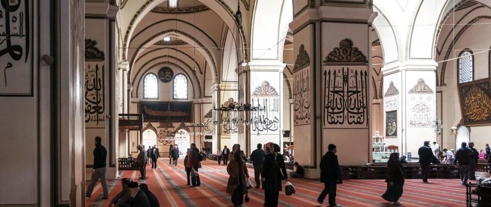 The Great Mosque, Bursa, Turkey © Engin Korkmaz | Dreamstime 81045143