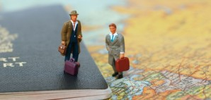 Travelers Map © Isabel Poulin | Dreamstime 1591534