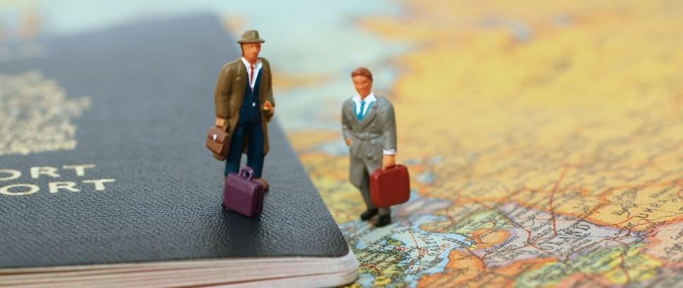 Travelers Map © Isabel Poulin   Dreamstime 1591534