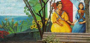 Frida Kahlo Mural in East Harlem, New York City © Zhukovsky   Dreamstime 52817280