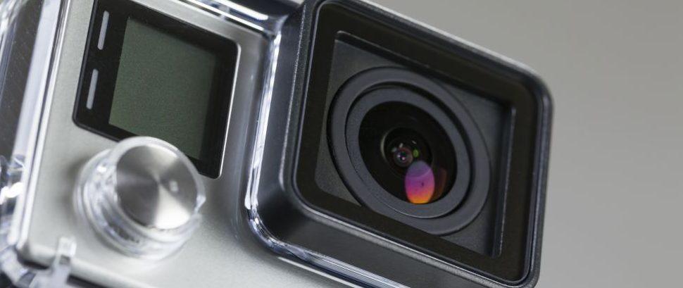 GoPro Hero 4 © Ymgerman   Dreamstime 48553557