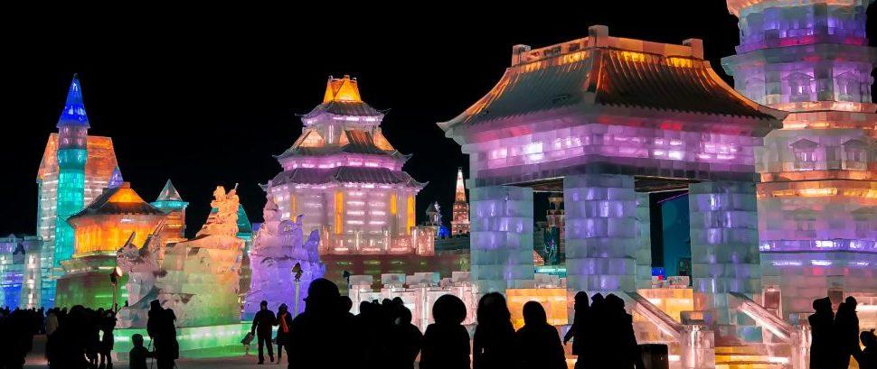 Harbin Ice Festival, China © Likefermat   Dreamstime