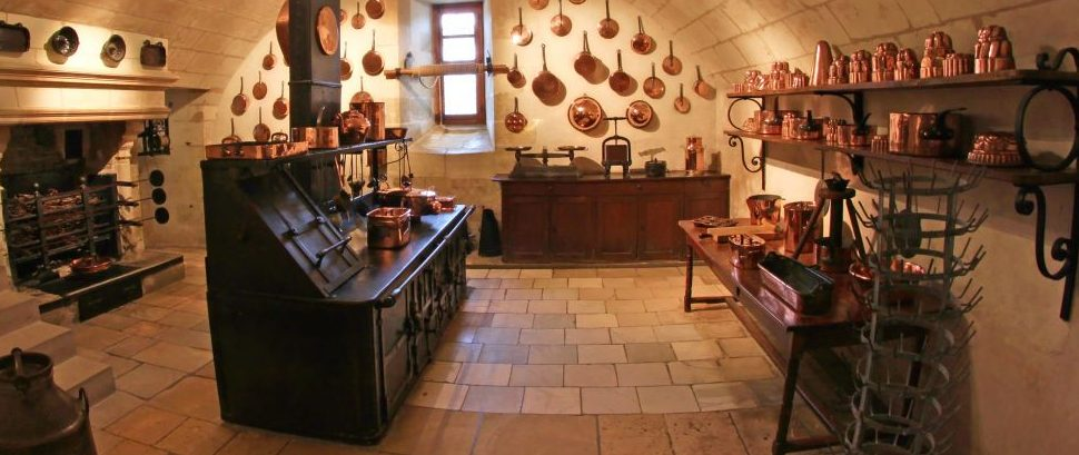 Medieval Kitchen in Chenonceau Castle, France © Paul Topp | Dreamstime 17833193