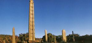 Obelisk of Axum, Ethiopia © Jorg Hackemann | Dreamstime 34605534