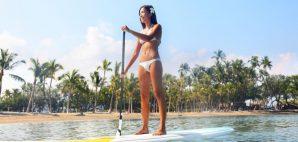 Paddleboarding in Hawai'i © Martinmark   Dreamstime 45248874