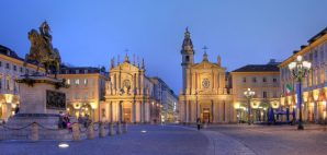 Piazza San Carlo, Turin, Italy © Mihai-bogdan Lazar | Dreamstime 19339561