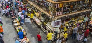 Sao Paulo Municipal Market, Brazil © Aguina | Dreamstime 36421134