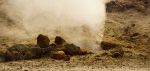 Sulfur Spring at Campi Flegrei, Italy © Georg Schmitt   Dreamstime 54900576