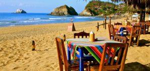 Zipolite Beach, Oaxaca, Mexico © Uli Danner   Dreamstime 22900078