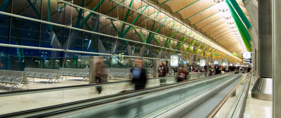 Airport Terminal in Madrid, Spain © Roy Janssen | Dreamstime 13201411