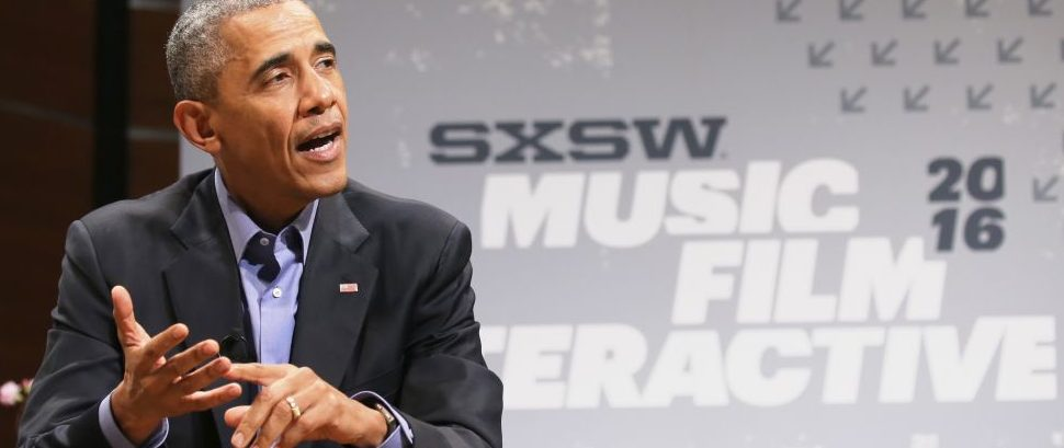 Barack Obama SXSW © SXSW