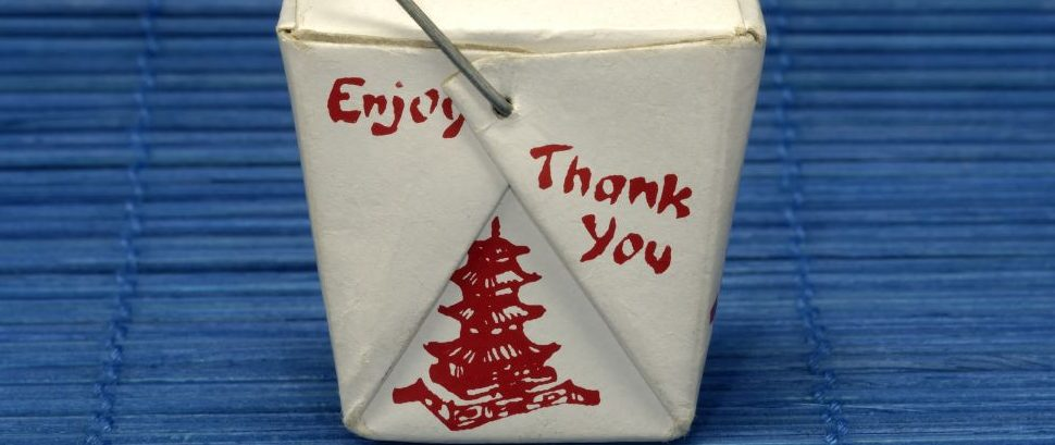 Chinese Take Out Box © Dana Rothstein   Dreamstime 874863
