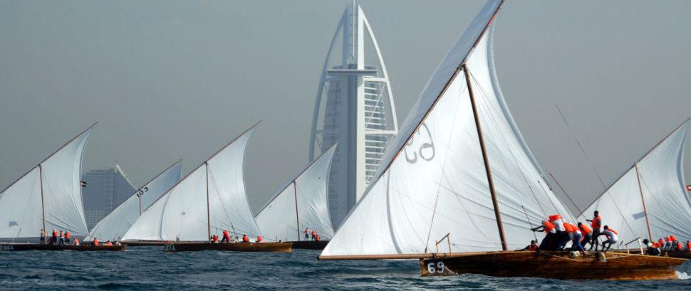 Dhow Sailing in Dubai, United Arab Emirates © Haider Y. Abdulla   Dreamstime 3863681