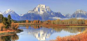 Grand Teton Mountains, Jackson Hole, Wyoming © Hotshotsworldwide | Dreamstime 44547427