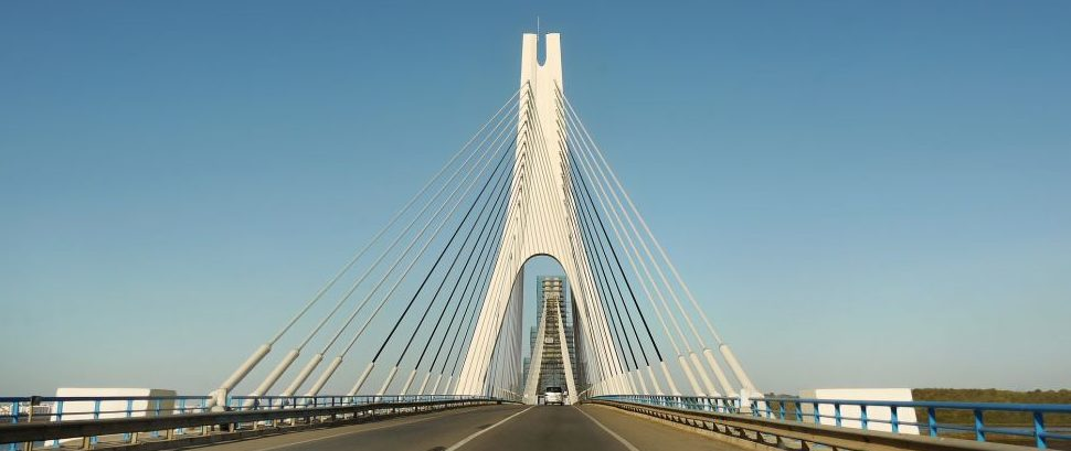 Guadiana International Bridge, Spain and Portugal © Helena Bilková | Dreamstime 80731014