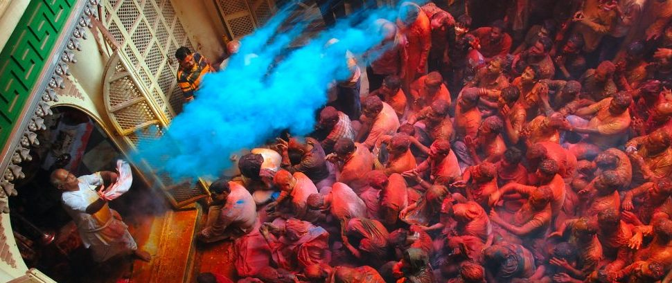 Holi in Kolkata, India © Samrat35 | Dreamstime 23978849
