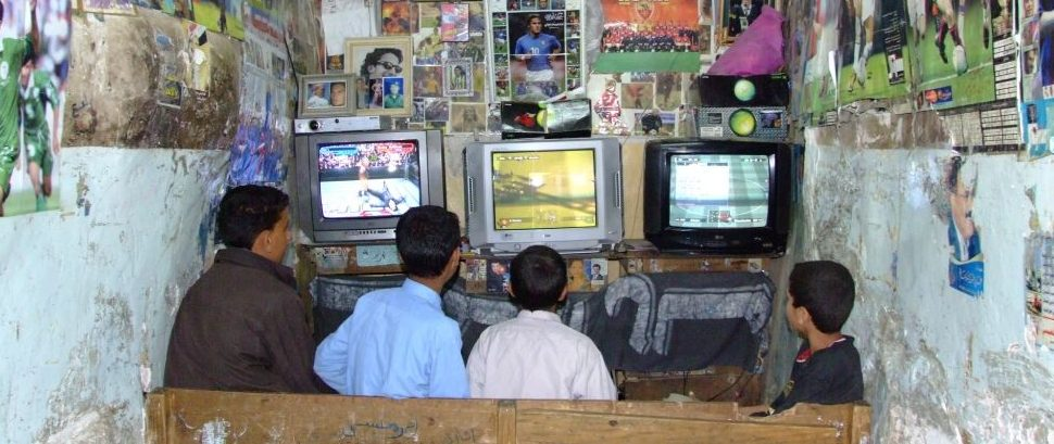 Internet Cafe in Yemen © Naci Yavuz | Dreamstime 14841718