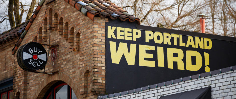 Keep Portland Weird, Oregon © Joshua Rainey | Dreamstime 66380928
