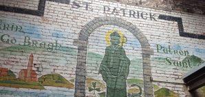 Mural of St. Patrick © Celeste Carroll | Dreamstime 68398050