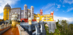 Palace of Pena, Sintra, Portugal © Aiisha | Dreamstime 71557986
