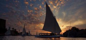 Sailboats on the Nile River, Egypt © Dphotos | Dreamstime 7666830