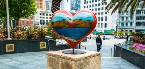 Tony Bennett's Heart of San Francisco in Union Square © Tinnaporn Sathapornnanont | Dreamstime 67223055