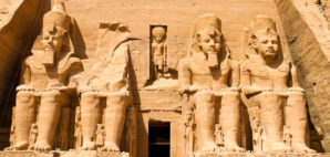 The Felstempel in Abu Simbel, Egypt © Ginasanders | Dreamstime 14044276