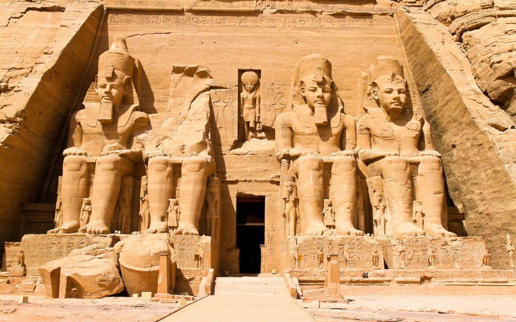 The Felstempel in Abu Simbel, Egypt © Ginasanders | Dreamstime 14044276