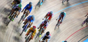Track Cycling © Pavel Losevsky | Dreamstime 26337895