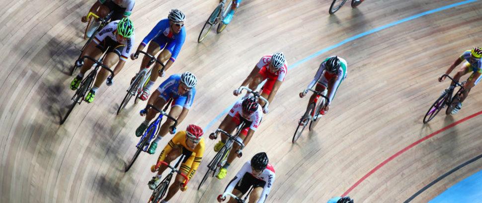 Track Cycling © Pavel Losevsky | Dreamstime 26337895