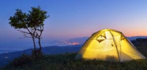 Camping © Oleksandr Kotenko | Dreamstime 39014208