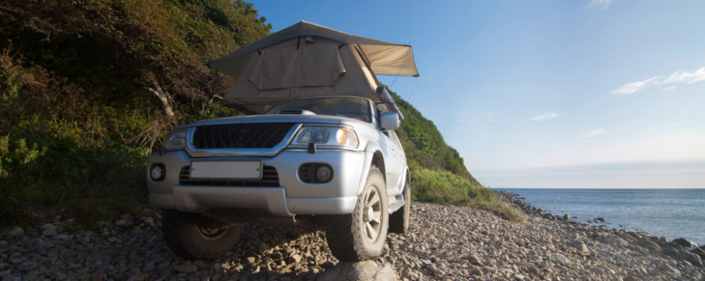 Car Rooftop Tent © Yocamon | Dreamstime 49332387