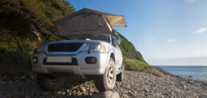 Car Rooftop Tent © Yocamon   Dreamstime 49332387