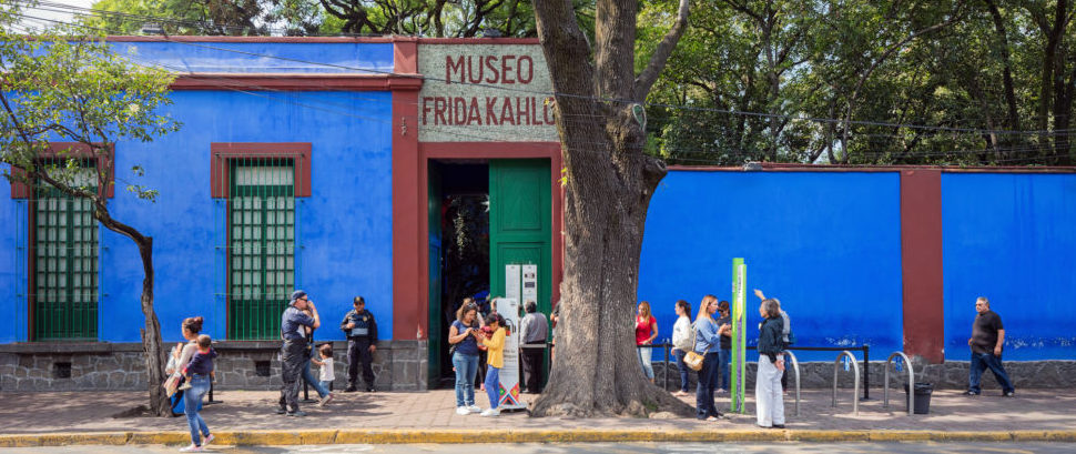 Frida Kahlo Museum, Mexico City © Coralimages2020 | Dreamstime 81305089