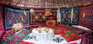Kazakhstan Yurt © Marina Pissarova | Dreamstime 51873378