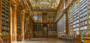 Library at Strahov Monastery, Prague, Czech Republic © Richard Van Der Woude | Dreamstime 40525168