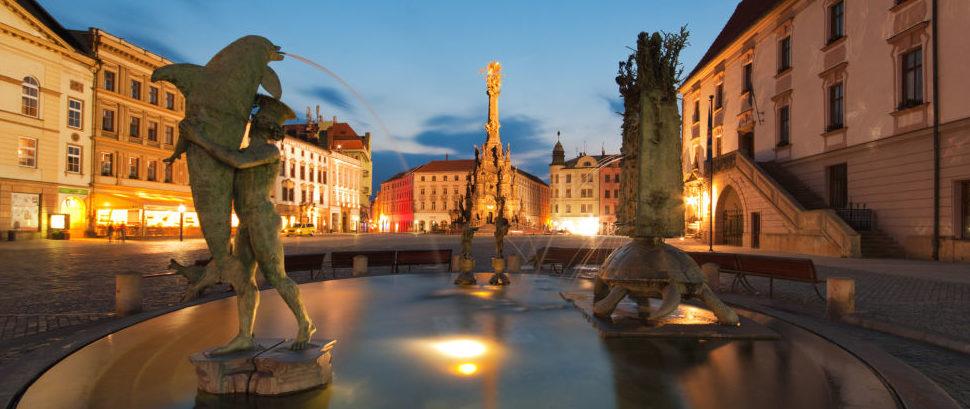 Olomouc Moravia, Czech Republic © Kordoz | Dreamstime 41859409