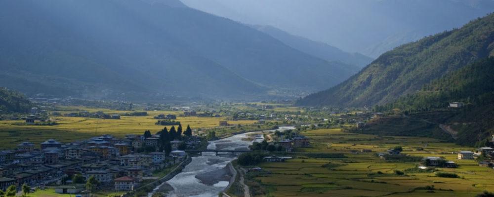 Paro, Bhutan © Attila Jandi | Dreamstime 34649824