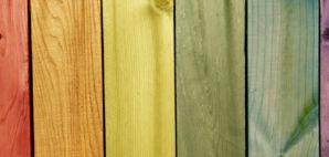 Rainbow Wood © Pyzata | Dreamstime 32278292