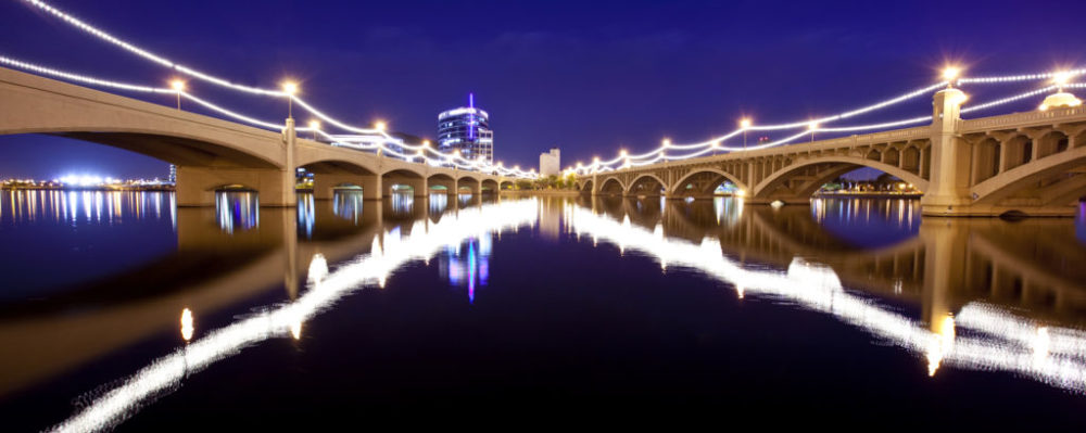 Tempe Bridges, Salt Lake City, Utah © Chris Curtis | Dreamstime 18645395