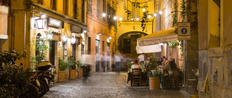 Trastevere, Rome, Italy © Ekaterinabelova   Dreamstime 36390306