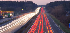 Autobahn to Munich, Germany © Manwolste | Dreamstime 2087325