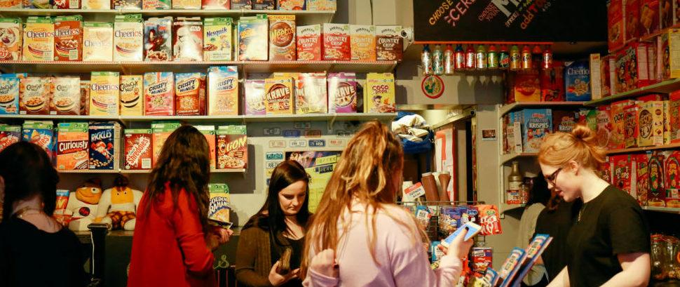 Cereal Killer Cafe, London, England © AlenaKravchenko | Dreamstime 89522959