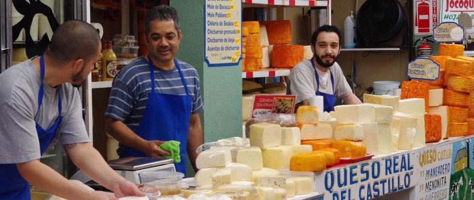 Cheese Vendors in Tijuana, Mexico © Leszek Wrona | Dreamstime 50530804